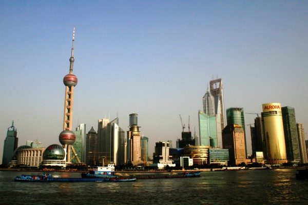 Shanghai River view